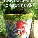 Teachers Gift Kids Handprint Art