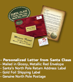 personalized letter from santa mylitter one deal at a time