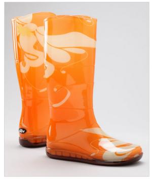 Zulily Cool Rain Boots 60% off!