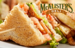 photo about Mcalister's Coupons Printable called Community Guests: McAlisters Deli 50% off! - MyLitter - Just one