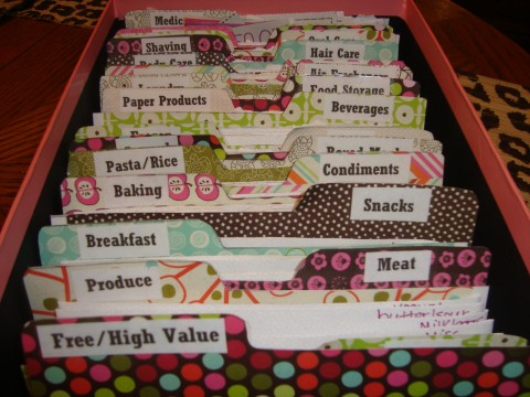 Readers Pictures How Do You Store Your Coupons Mylitter One