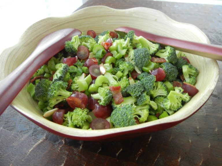 Broccoli Salad - My Favorite Salad EVER!