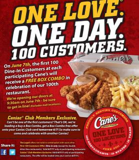 raising canes restaurant coupons