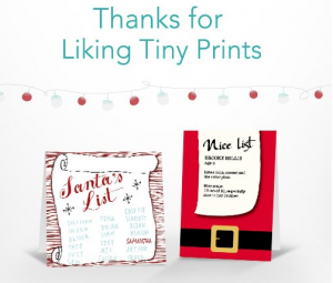 tiny prints free letter from santa mylitter one deal at a time