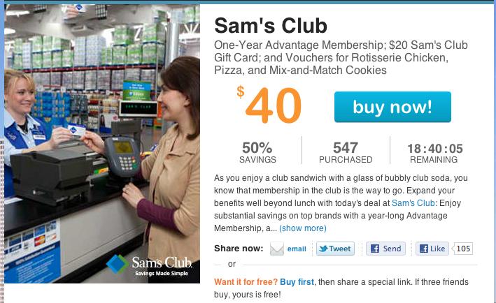Sams Club Membership Deal   Party Invitations Ideas