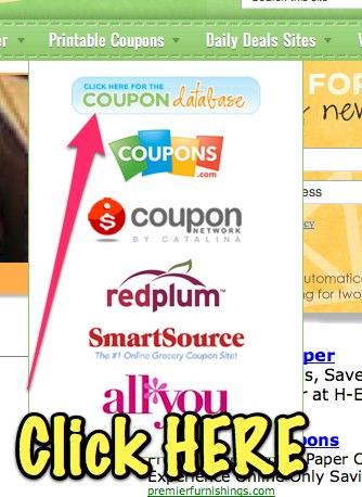 coupon database 101