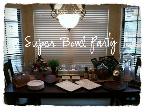 Super Bowl Table Decorations and Easy Super Bowl Recipe ...
