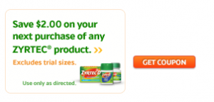 next week at cvs zyrtec 5 count will be 599 and get 599 ecb back there is a 21 on any zyrtec product printable coupon to use that makes this a money