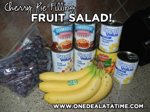 Cherry Pie Filling Fruit Salad Recipe