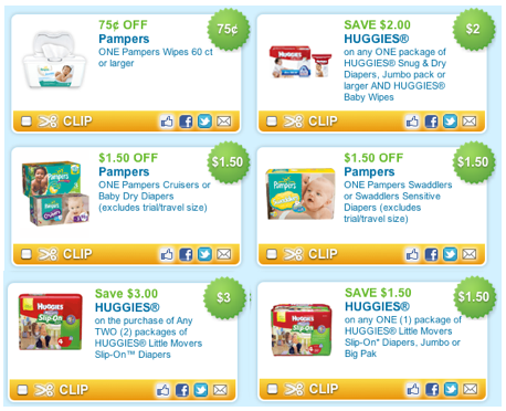 picture regarding Pampers Wipes Printable Coupons named Huggies and Pampers, Diapers and Wipes, Printable Discount coupons!