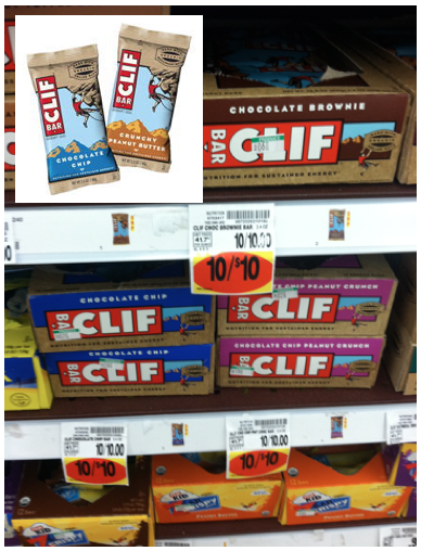 picture regarding Cliff Bar Printable Coupons named Help you save $1 upon Clif Bars - Kroger and Walmart Bargains - MyLitter