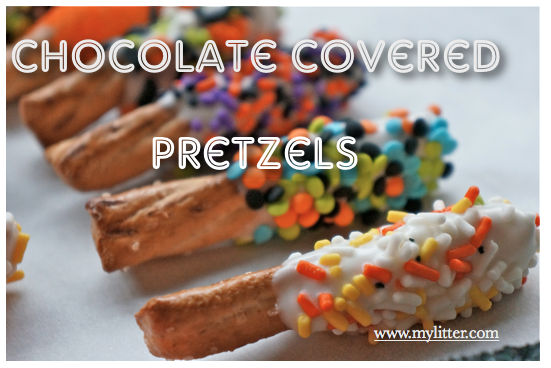 how to make chocolate covered pretzels without a double boiler