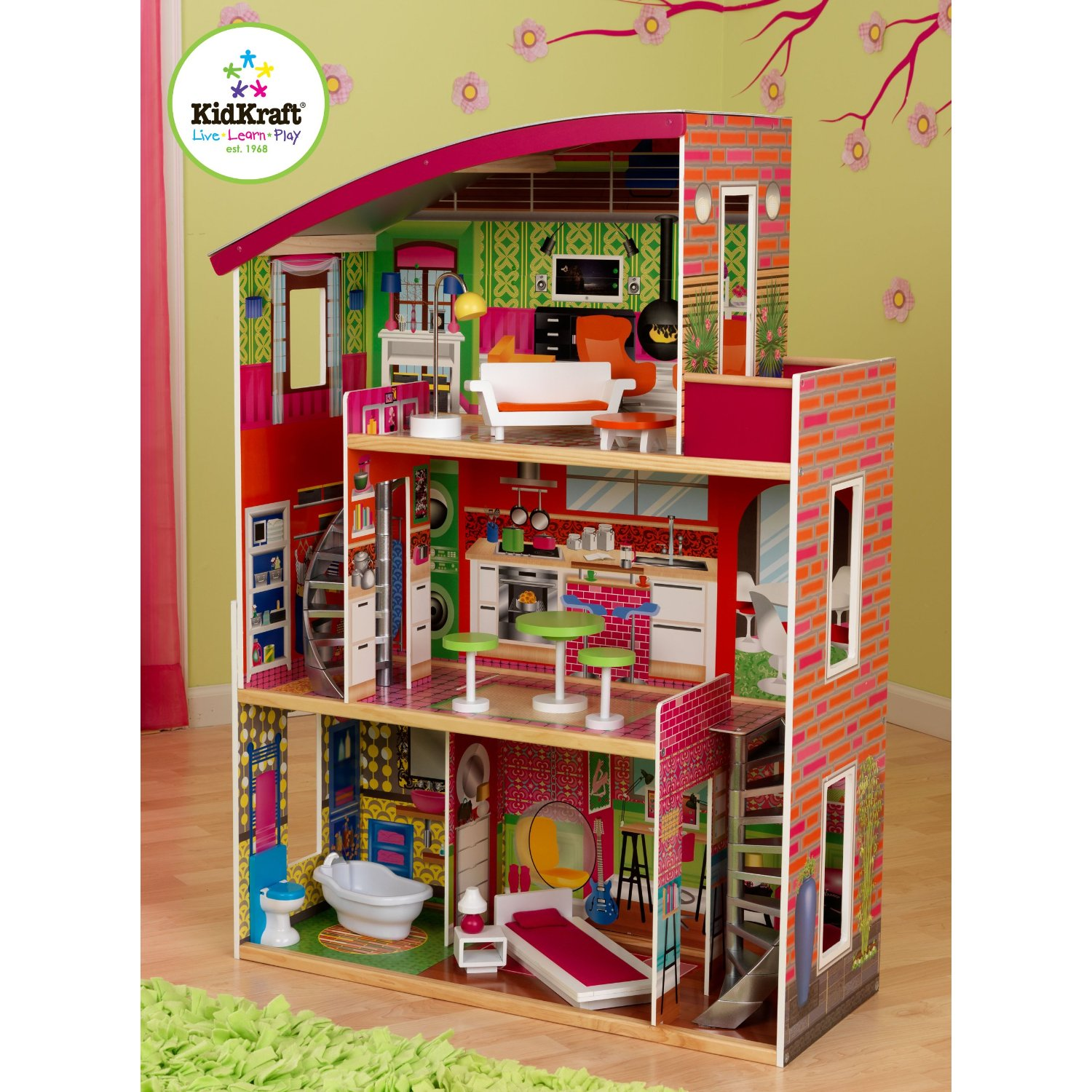 Kidkraft Designer Doll House With Furniture 109 Shipped Was 164