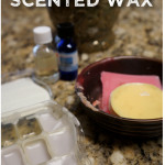 making scented wax