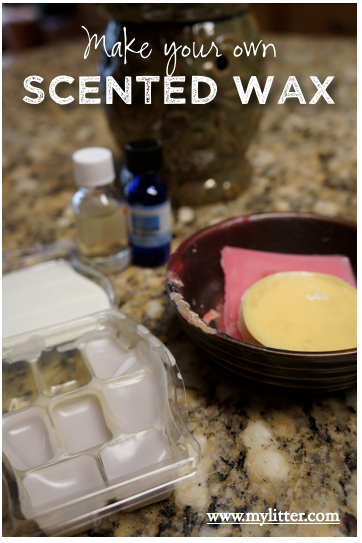make your own scented wax cubes, free scentsy