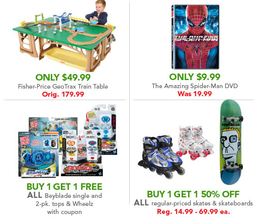 Hot toys r us super saturday sale mylitter one deal for 10 in 1 game table toys r us
