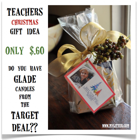 Teacher's Gift Idea for Christmas 