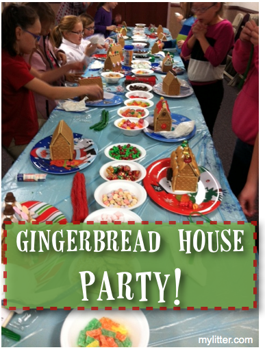 how to host a gingerbread party