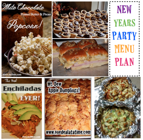 new years party recipe ideas