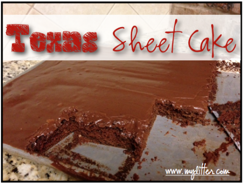 Texas Sheet Cake Recipe - Mylitter.com