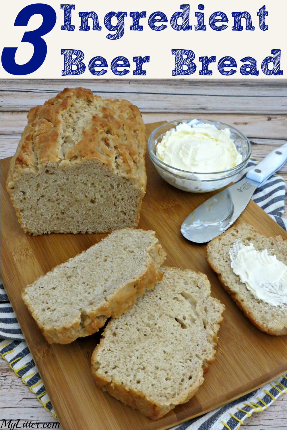 Homemade Beer Bread | Easy quick bread recipe