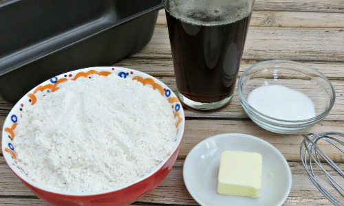 Homemade Beer Bread Ingredients