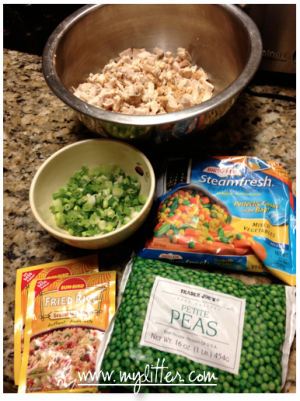 easy fried rice ingredients - mylitter.com