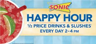 sonic happy hour times
