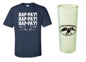 Finally, you can look good in Phil's Hap-Pay! shirt and have one of