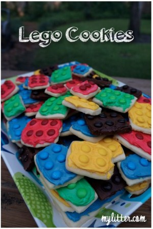 How To Make Lego Cookies For A Birthday Party