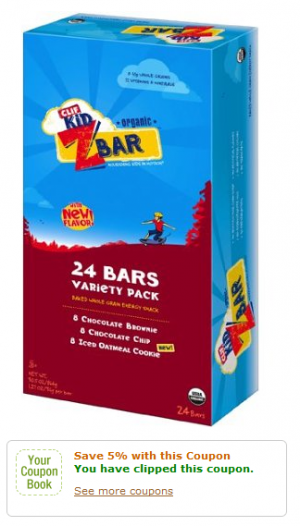 Clif Kid Z Bars Coupon