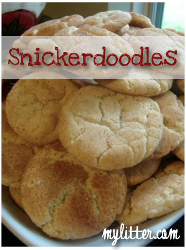 Best Snickerdoodle Cookie Recipe Mylitter One Deal At A Time