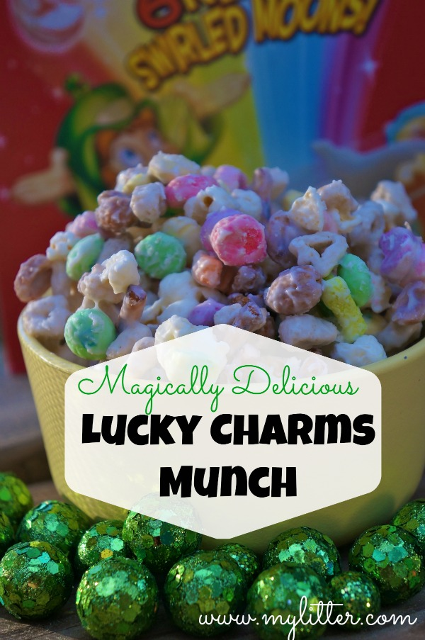 LuckyCharms cereal Munch treats recipe