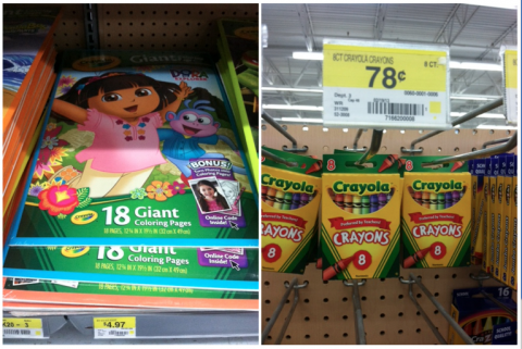 Walmart: Buy Crayons Get $1 off Coloring Book! - MyLitter - One Deal ...