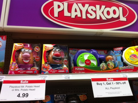 mr potato head Target