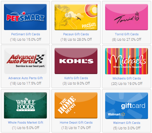 Save Even More on Shopping with Discounted Gift Cards! - MyLitter ...