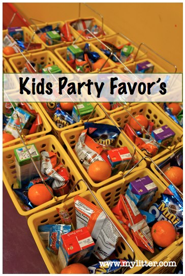 kids party favor snack ideas