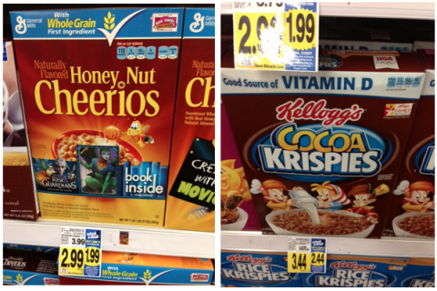 kroger mega event cereal deals