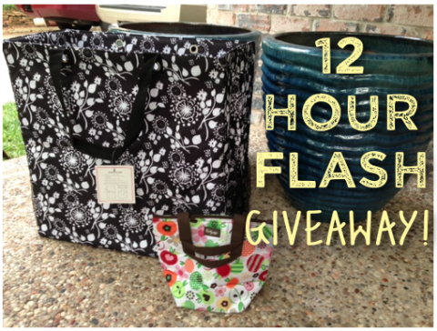 thirty one flash sale giveaway