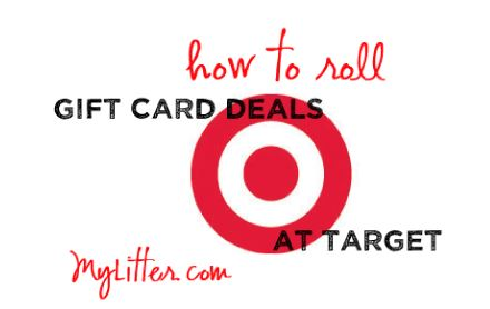How to Roll Gift Card Deals at Target