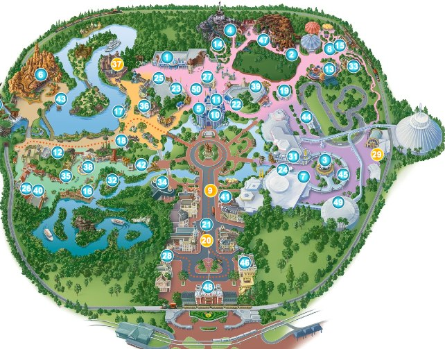 FREE Disney Customized Maps {For All The Parks!} - MyLitter ...