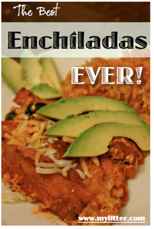 Easy homemade authentic Enchiladas