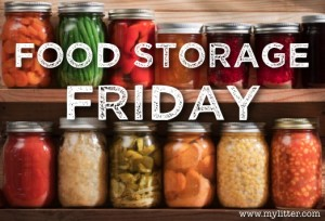 Food Storage Friday Banner
