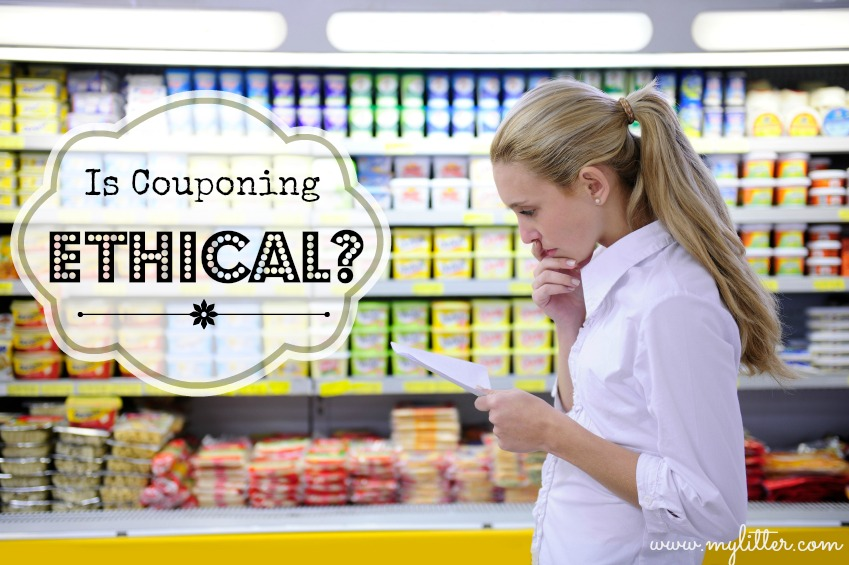 Is couponing Ethical