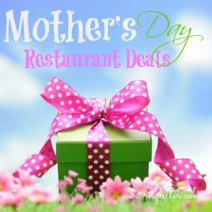 Mother's Day Restaurant Deals