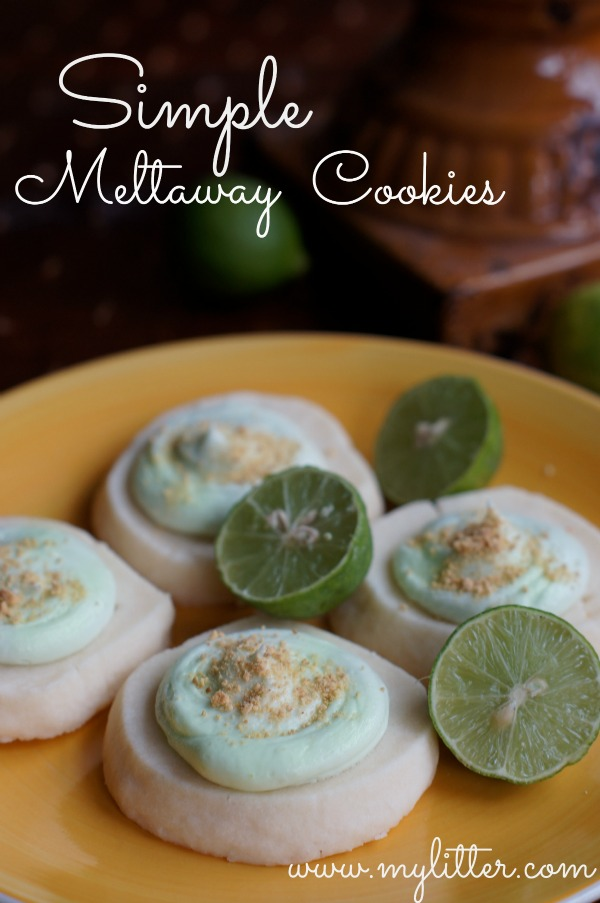 Simple Melt-away Cookies