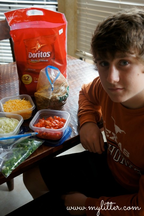 Taco in a bag Tucker