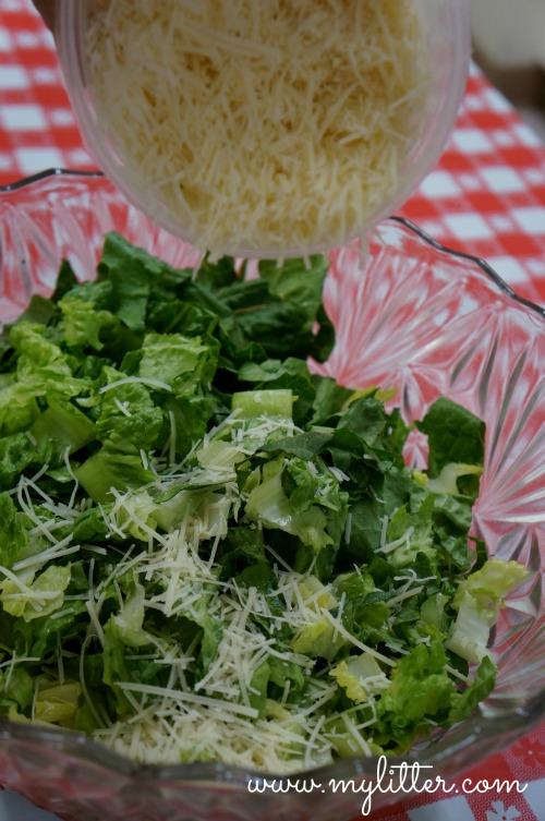 caesar salad parm cheese