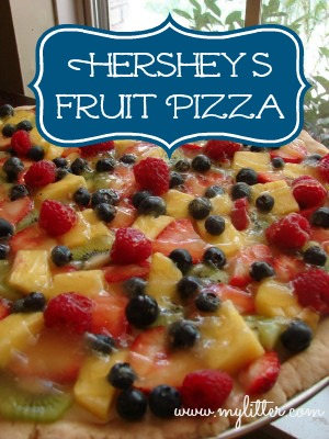 hershey's fruit pizza