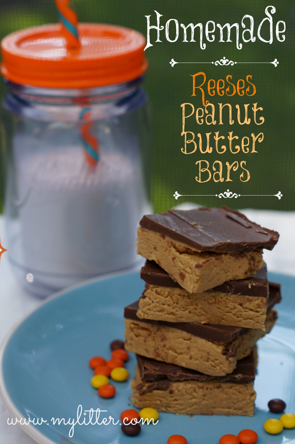 Homemade Reese's Peanut Butter Cups/Bar Recipe - MyLitter - One Deal ...